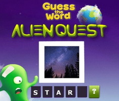 Alien Quest: Guess The Word