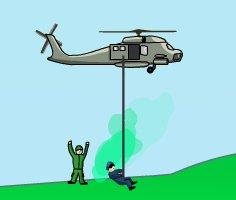 Helikopterle Asker Kurtarma