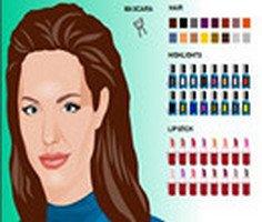 Angelina Jolie Makyaj Yap
