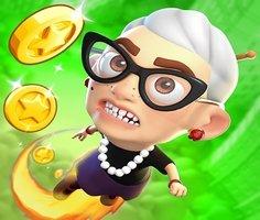 Kızgın Büyükanne Yukarı Zıplama