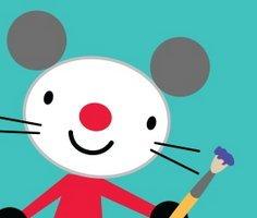 Arty Mouse Boyama Kitabı