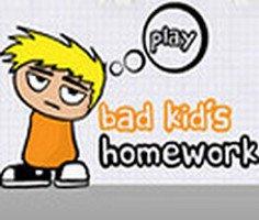 Kötü Çocukların Ev Ödevi