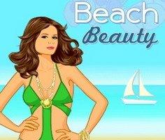 Plaj Güzeli Giysi Giydirme