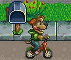 Bisikletli Sokak Köpeği