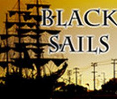 Siyah Yelkenli Gemi