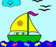 Yelkenli Tekne Boyama