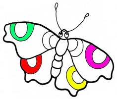 Butterfly Coloring Pages Play Butterfly Coloring Pages Game