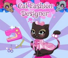 Kedi Moda Tasarımcısı oyunu oyna