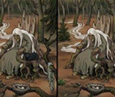 Cadı Çocuk: Fark Bulmaca