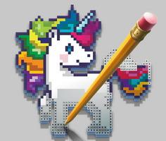 Renkli Piksel Sanatı
