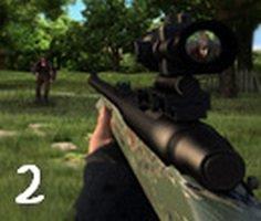 Tüfekle Zombi Avı 2 oyunu oyna