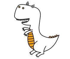 Dinozor Boyama Sayfaları