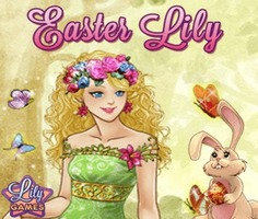 Easter Lily Dress Up