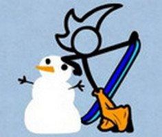 Fantezi Pantolon Kar Kaykayı