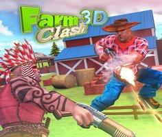 Çiftlik Çatışması 3D oyunu oyna