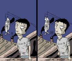 Karikatürlü 5 Fark Bulma