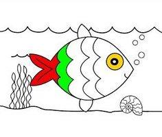 Balık Boyama Sayfaları