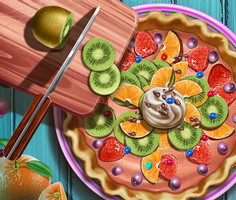 Fruit Pie Realife Cooking