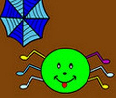 Play Funny Spider Coloring