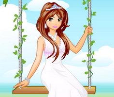 Bahçe Prensesi Giydirme