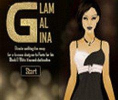 Glam Gal Gina - Siyah ve Beyaz