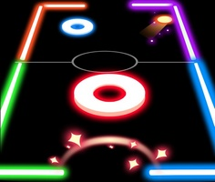 Işıklı Masa Hokeyi oyunu oyna