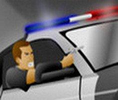Polis Arabasi Takip Oyunu