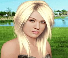 Kelly Clarkson Gerçek Makyaj