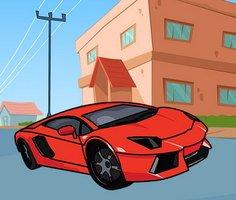 Lamborghini Boyama Sayfaları