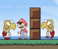 Mario Dövüş oyunu oyna