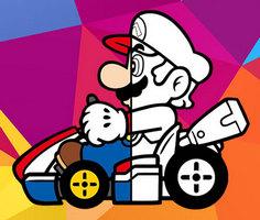 Mario Araba Boyama Kitabı