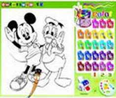 Play Mickey Mouse Coloring