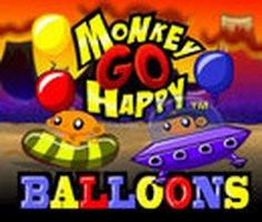 Maymunu Mutlu Et Balonlar