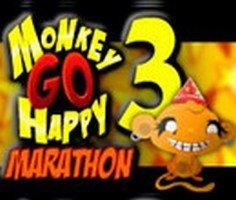 Maymunu Mutlu Et Maraton 3 oyunu oyna