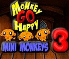 Maymunu Mutlu Et Mini Maymunlar 3 oyunu oyna
