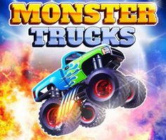 Monster Trucks Drag Racing