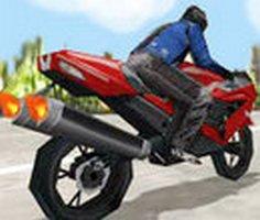 3D Süper Motosiklet Yarışı