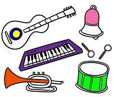 Muzik Aletleri Boyama Sayfalari Yazdirilabilir Boyama Oyunlari