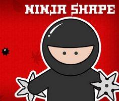 Ninja Şekli oyunu oyna