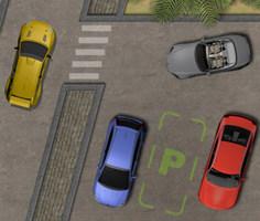 Şehirde Araba Park Etme