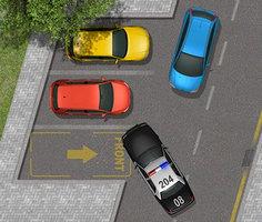 Polis Arabası Park Etme