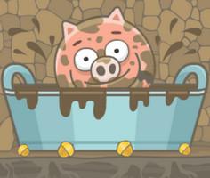 Domuzcuk Çamur Banyosunda