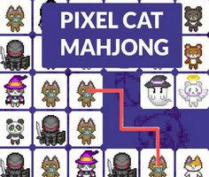 Piksel Kedi Mahjong
