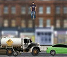 Zıplayarak Araba Ezme