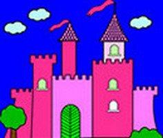Princess Castle Coloring Oyunu Oyna Princess Castle Coloring