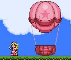 Princess Peach Hot Air Balloon