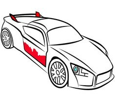 Racing Cars Coloring Pages Play Racing Cars Coloring Pages Game