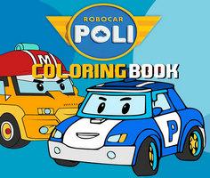 Robocar Poli Boyama Kitabı