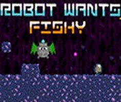 Robot Balık İstiyor