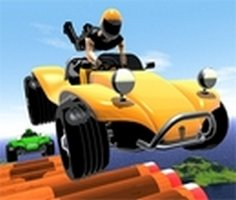 3D Heyecanlı Araba Yarışı